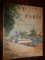 1928 Rare Exemplaire Première édition Numéro 500 , PARIS En Photos Sépia De Berthaud Et Henri Manuel (1kg400) - Livres, BD, Revues