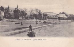 Namur. Le Casino Et L'Eglise Notre-Dame. - Namur