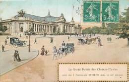 PARIS LE GRAND PALAIS DES CHAMPS ELYSEES AVEC SES 2 ASCENSEURS STIGLER - Altri Monumenti, Edifici