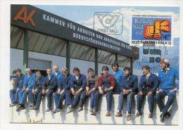 AUSTRIA - AK 180241 MC - Maxiart Edition 5/1985 25. Jahre Berufsförderungsinstitut - Maximumkarten (MC)