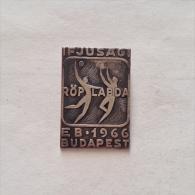 Badge / Pin (Volleyball) - Hungary Budapest European Junior Championship 1966 - Volleyball