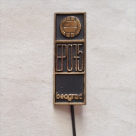 Badge / Pin (Volleyball) - Yugoslavia Belgrade European Championship 1975 - Volleyball