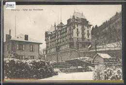 DISTRICT DE VEVEY /// CHAMBY - HOTEL DES NARCISSES - B ( PETIT PLI D´ANGLE  ) - VD Vaud