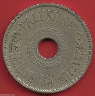 PALESTINE, PALESTINA, 20 MILS 1927 NICE COLLECTABLE CONDITION ( VA.. ) , RARE - Israel