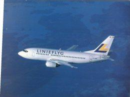 (521) Aviation Airlines -  Linjeflyg B 737-500 - 1946-....: Moderne