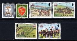 GB ISLE OF MAN IOM - 1979 TYNWALD SET (6V) FINE MNH ** SG 150-155 - Isle Of Man