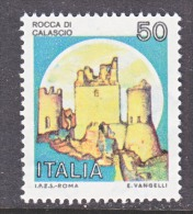 ITALY  1412  **  CASTLE - 6. 1946-.. Republic