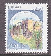 ITALY  1425  **  CASTLE - 6. 1946-.. Republic