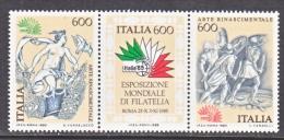 ITALY  1617  **   STAMP EXPO - 6. 1946-.. Republic
