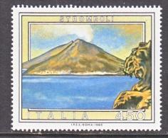 ITALY  1632  **   VOLCANO - 6. 1946-.. Republic