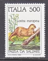 ITALY  1634  **   BEAVER - 6. 1946-.. Republic