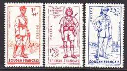 SOUDAN  B 11-13  *  VICHY - Sudan (1894-1902)