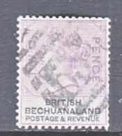 BECHUANALAND  PROTECTORATE  11  (o)  Wmk 29  ORB - Bechuanaland (...-1966)
