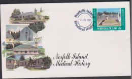 Norfolk Island 1995 Medical History PrePaid Envelope FDC - Norfolk Island