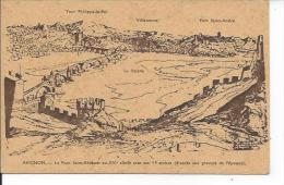 AVIGNON: Le Pont St. Bénézet D'après Gravure - Avignon (Palais & Pont)