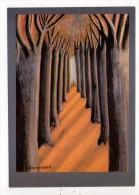 CP 10*15/AE74/ALLEE D ARBRES - Peintures & Tableaux