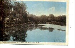 78 RAMBOUILLET LE PARC  CANAUX ZONE DE PECHE - Rambouillet