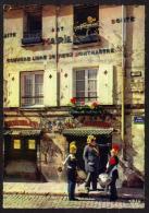 """CPSM Gf .Dépt:75.PARIS.Mairie Du Vieux Montmartre """"commune Libre""""autographe D' ANATOLE""""garde Champêtre . - Musées"""