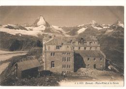 -Suisse - VS -ZERMATT : Gornergratt - Hôtel Kulm Et La Chaîne Des Alpes  Unused TTB - VS Valais