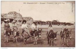 D17  ROYAN  Promenade à ânes Sur La Plage  ..... - Royan