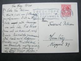 1934, Perfin   S     Auf Postkarte - Periode 1891-1948 (Wilhelmina)