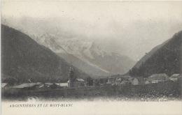 74 - ARGENTIÈRES Et Le Mont-Blanc- Haute-Savoie - Le Village - Autres Communes