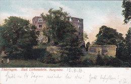 Thüringen Bad Liebenstein Burgruine - Bad Liebenstein
