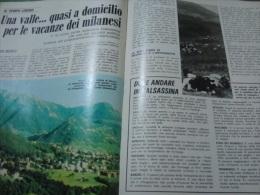 GIORNI 30/7/1975 BARZIO VALSASSINA VECCHIANO PISA GROSSETO BARBARA BOUCHET - Boeken, Tijdschriften, Stripverhalen