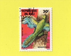REP. DU MALI ,, ARCHAEOPTERYX   ( O. BAILLAIS ) ,, **  30 F. ** ,, POSTE 1984 ,, ,,TBE - Mali (1959-...)