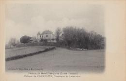 47) Environs De Monflanquin (Lot Et Garonne) Château De CANABAZÈS , Commune De Lacaussade - Monflanquin