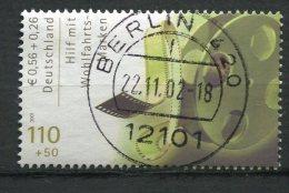 "Germany 2001 Mi.Nr.2220 Spezial Berlin Stempel""Intern.Filmschauspieler-Filmrolle "" 1 Wert Berlin Gestempelt"