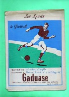 PROTEGE CAHIER LES SPORTS LE FOOTBALL(LILOU 12) - Sport