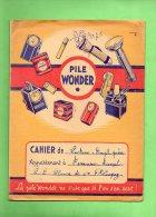 PROTEGE CAHIER PILE WONDER (LILOU 12) - Protège-cahiers