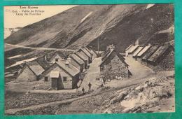 OO  - CPA  ALPES DE HAUTE PROVENCE (04)  VALLEE DE L UBAYE - CAMP DES FOURCHES - - France