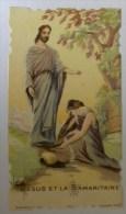 Image Pieuse - JESUS Et La SAMARITAINE  - Bonamy 397 Holy Card - Images Religieuses