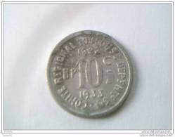10 CENTIMES - 1922 - 1933 - COMITE REGIONAL DE TOULOUSE - - Monetary / Of Necessity