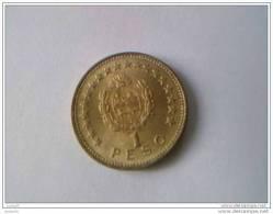 URUGUAY - 1 Peso 1965 - Cu-Alu - - Uruguay
