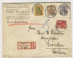 Deutsches Reich Privat Ganzsache + ZF 84 I , 86 I , 88 I