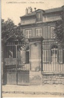 78 YVELINES Carrières Sur Seine Ecole Des Filles - Carte Voyagée 1933 - Carrières-sur-Seine