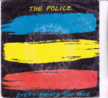 DISQUE 45 T - THE POLICE - EVERY  BREATH YOU TAKE -STING ---- 45 RPM STEREO AMS 9287 - 45 G - Maxi-Single