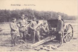 Armée Belge      Pièce De 75 M/m - Matériel