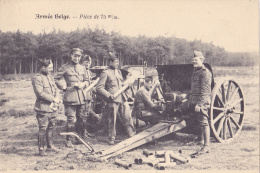 Armée Belge      Pièce De 75 M/m - Ausrüstung