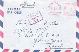 Netherland -- Letter Sent To Israel - Ramla Prison - On 1982 -censorred - Switzerland