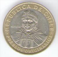 CILE 100 PESOS 2010 BIMETALLICA - Cile