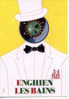 ENGHIEN-LES-BAINS - 3-4 Juin 1989 Rencontre D´artistes…  JM. PETEY - Events