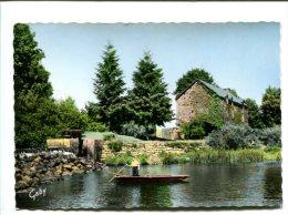 CP - SAINT MARTIN SUR OUST (56) Le barrage et le moulin de la n�e