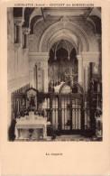 Cpa COUBLEVIE, L'intérieur De La Chapelle Avec Son Beau Jubé, Couvent Des Dominicaines   (26.1) - France