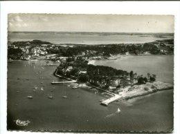 CP - ILE AUX MOINES (56) Le Port Et La Pointe De Brouel - Ile Aux Moines