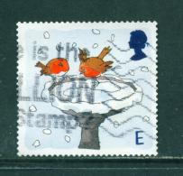 GREAT BRITAIN - 2001  Christmas  'E'  Used As Scan - 1952-.... (Elizabeth II)