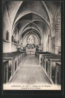 CPA Longueil, Intérieur De L´Eglise, Chapelle De La Vierge - France